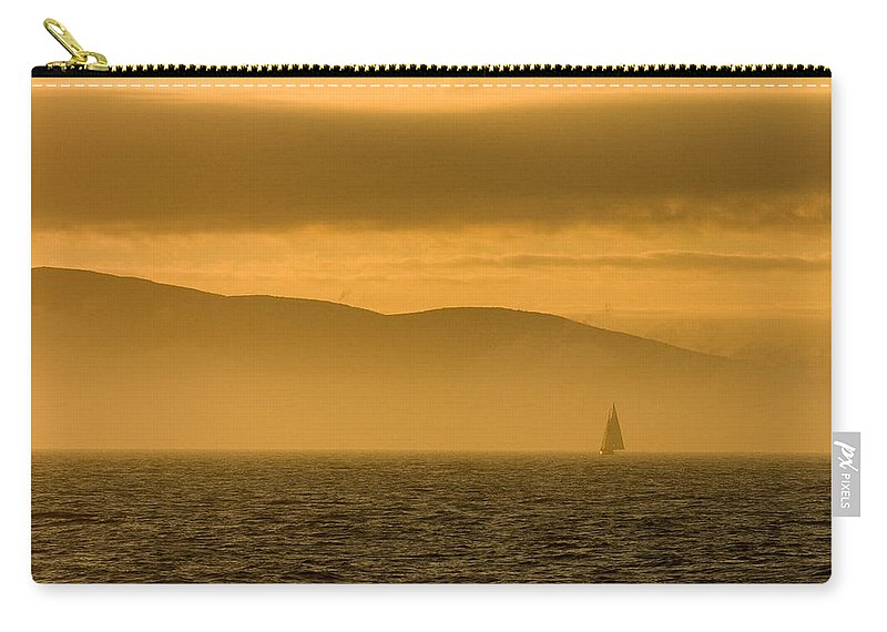 Sunset Carry-all Pouch featuring the photograph Acadia National Park Sunset by Sebastian Musial