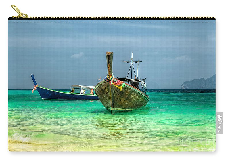 Asia Carry-all Pouch featuring the photograph All Aboard by Adrian Evans