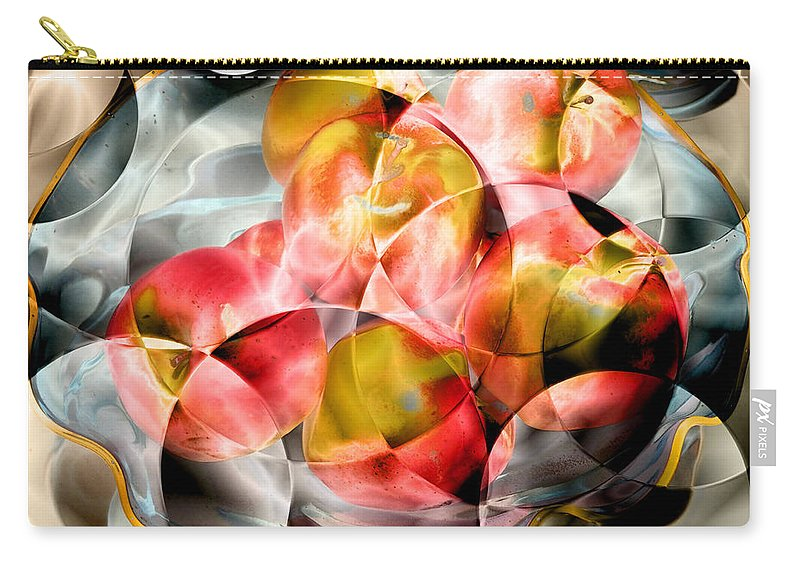 Apples Carry-all Pouch featuring the photograph Apple Bowl by David Pantuso