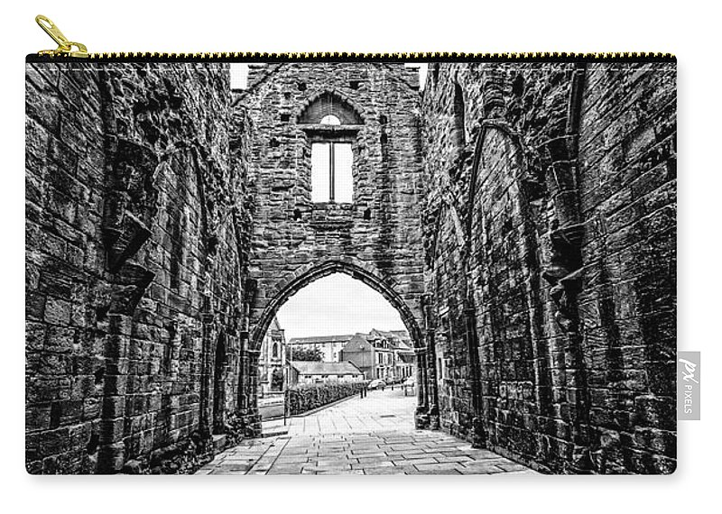 Abbey Carry-all Pouch featuring the photograph Arbroath Abbey by Mark Llewellyn