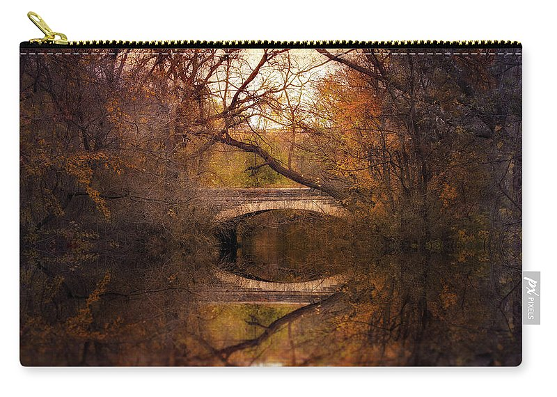 Autumn Carry-all Pouch featuring the photograph Autumn's End by Jessica Jenney