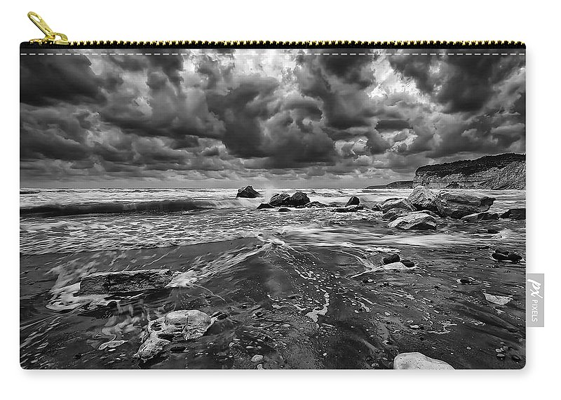Beach Carry-all Pouch featuring the photograph Beach 14 by Ingrid Smith-Johnsen