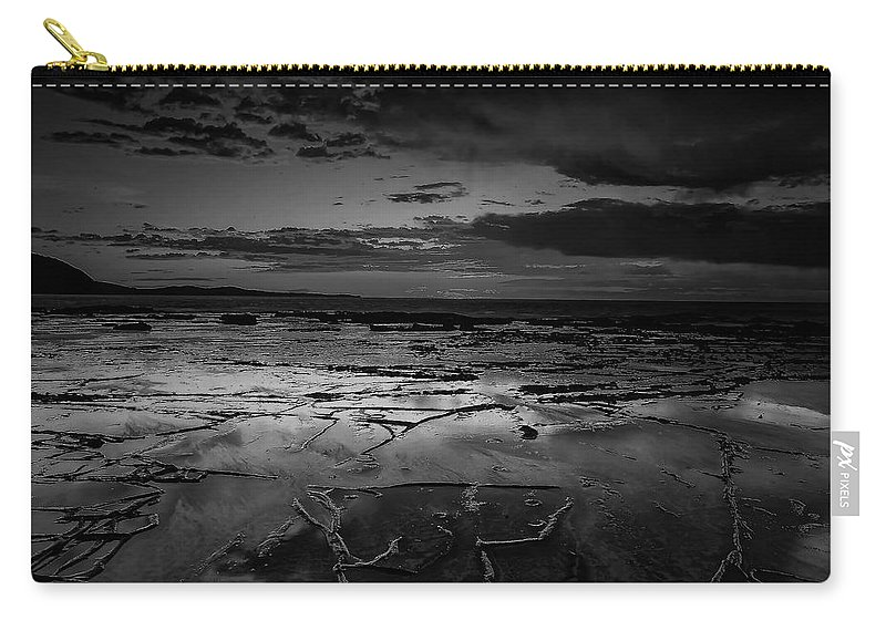 Beach Carry-all Pouch featuring the photograph Beach 23 by Ingrid Smith-Johnsen