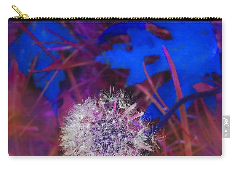 Fall Carry-all Pouch featuring the digital art Blowing In The Wind by Ian MacDonald
