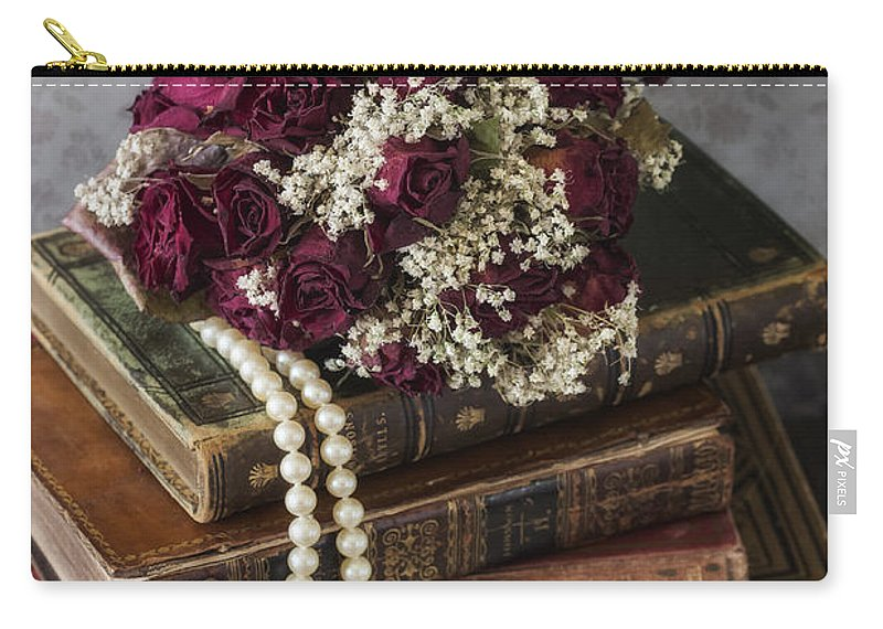 Book Carry-all Pouch featuring the photograph Bridal Bouquet by Joana Kruse