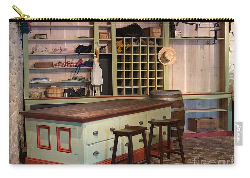 Charles Lohman's General Store Carry-all Pouch featuring the photograph Charles Lohman's General Store by Liane Wright