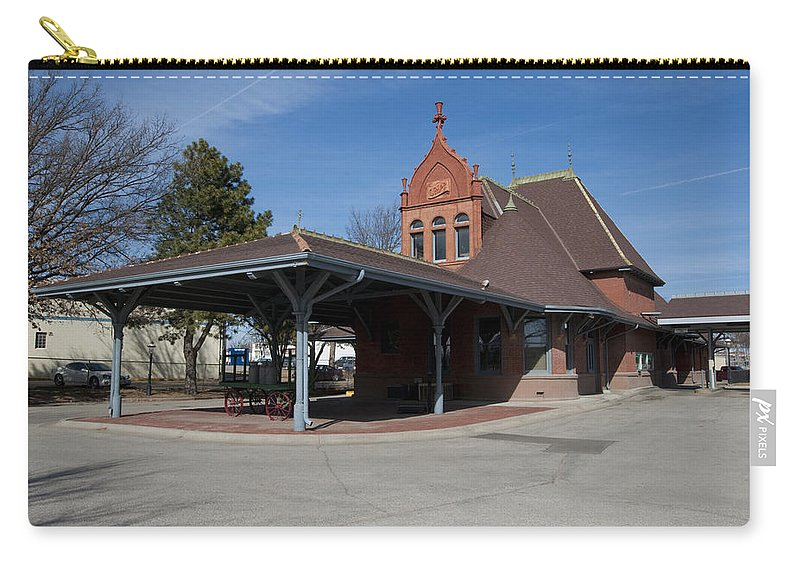Chicago Carry-all Pouch featuring the photograph Chicago Rock Island Pacific Railway Depot by Paul Cannon