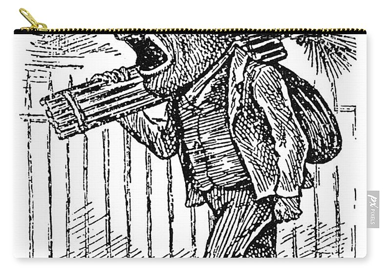 19th Century Carry-all Pouch featuring the painting Chimney Sweep by Granger