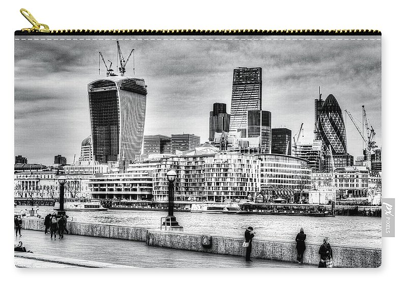 City Of London Carry-all Pouch featuring the photograph City Of London by David Pyatt