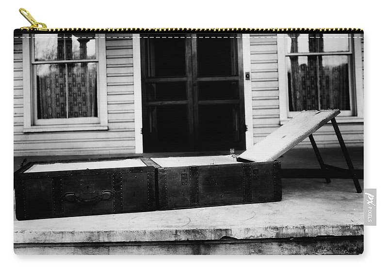 1860s Carry-all Pouch featuring the photograph Clara Barton (1821-1912) by Granger