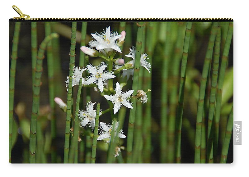White Flowers Carry-all Pouch featuring the photograph Delicate by Aimee L Maher ALM GALLERY