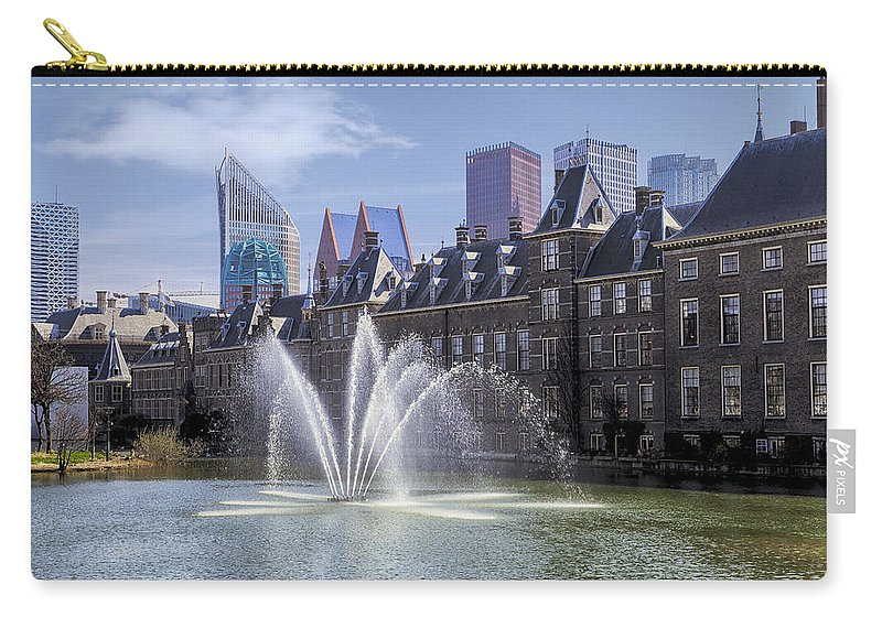 Binnenhof Carry-all Pouch featuring the photograph Den Haag by Joana Kruse