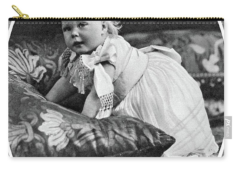 1895 Carry-all Pouch featuring the photograph Edward Viii (1894-1972) by Granger