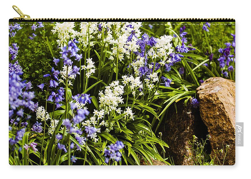 Bedding Carry-all Pouch featuring the photograph English Country Garden by Mark Llewellyn
