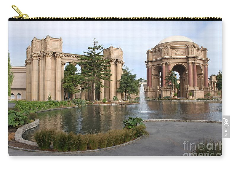 Landmark Carry-all Pouch featuring the photograph Exploratorium San Francisco by Henrik Lehnerer