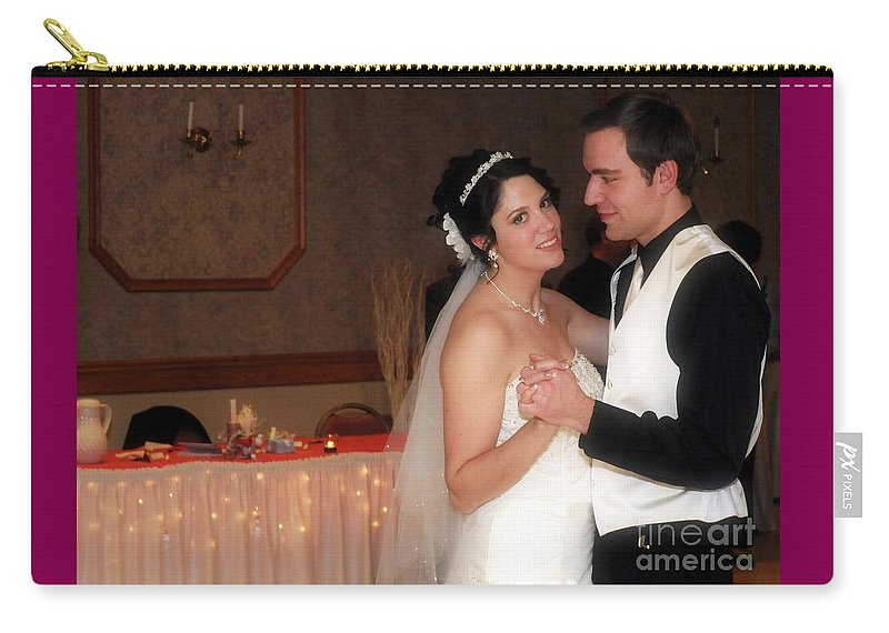 Bride Carry-all Pouch featuring the photograph First Dance by Kathleen Struckle