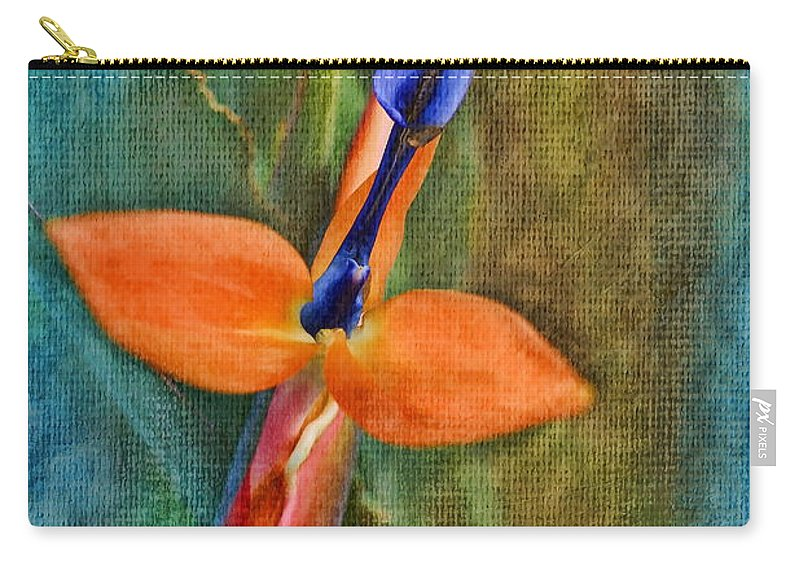 Floral Carry-all Pouch featuring the photograph Floral Contentment by Deborah Benoit