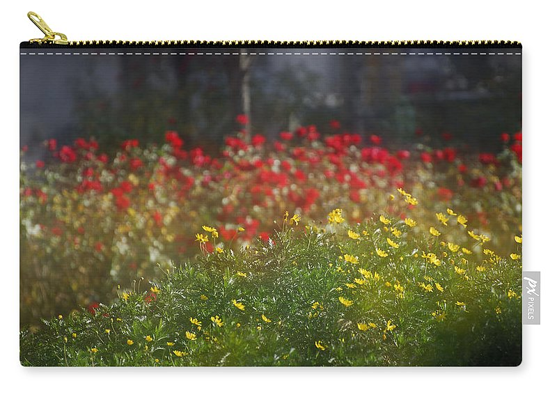 Flower Carry-all Pouch featuring the photograph Forest City by Guido Montanes Castillo