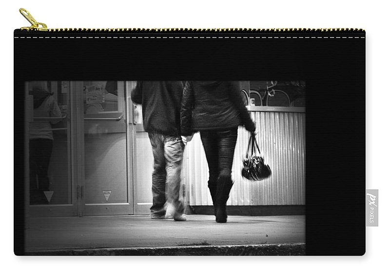 Theatre Carry-all Pouch featuring the photograph Goin' To The Movies by Theresa Tahara