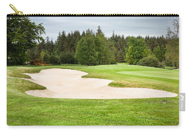 Activity Carry-all Pouch featuring the photograph Golf Course by Tom Gowanlock