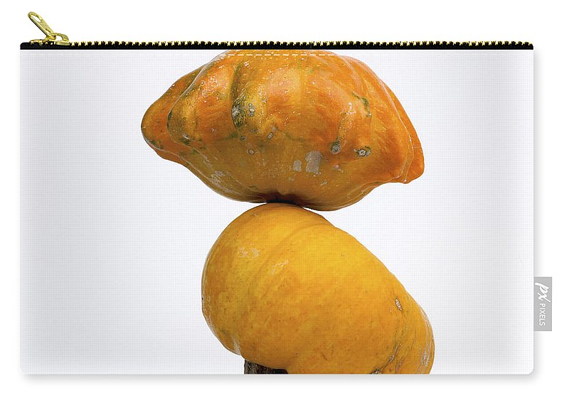 Food Carry-all Pouch featuring the photograph Gourds And Pumpkins by Bernard Jaubert
