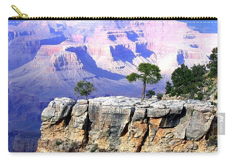 #grandcanyon1vista Carry-all Pouch featuring the photograph Grand Canyon 1 by Will Borden