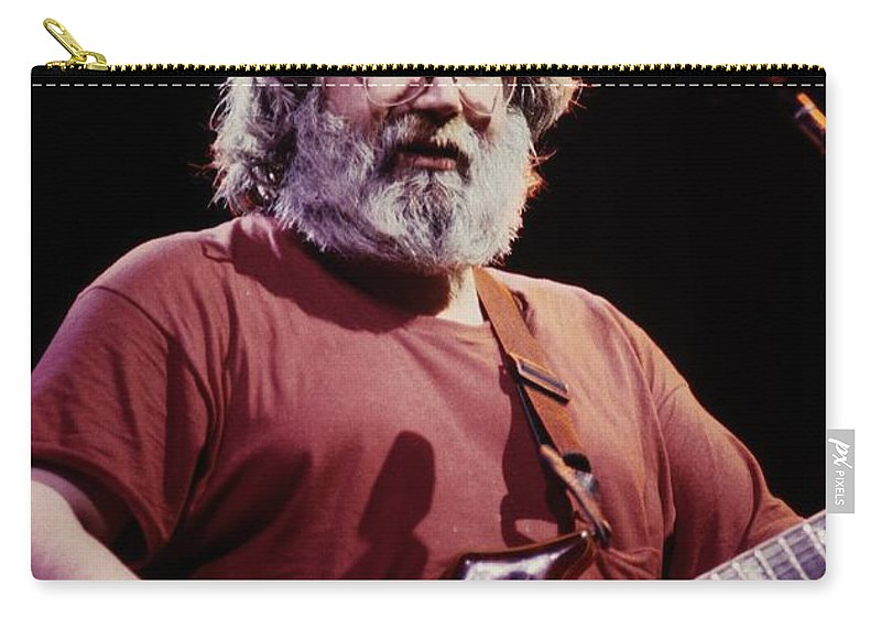 Folk Carry-all Pouch featuring the photograph Grateful Dead by Concert Photos
