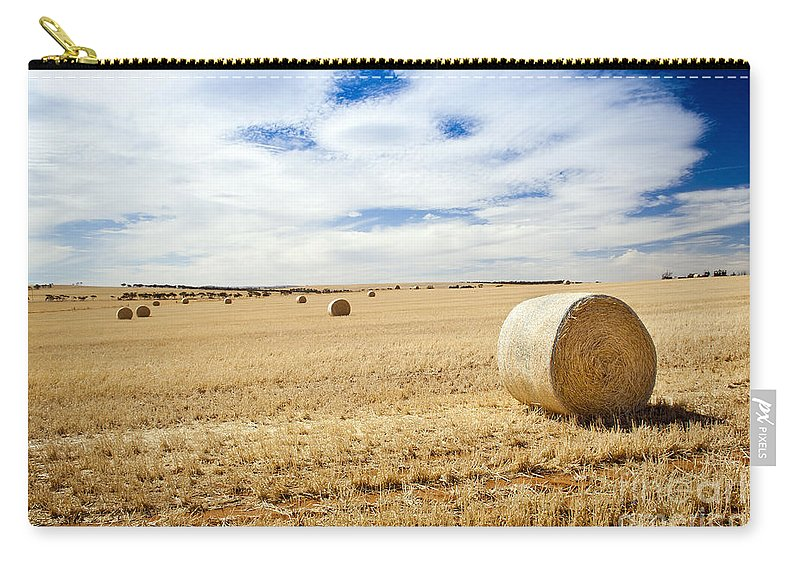 Farm Carry-all Pouch featuring the photograph Harvest by Tim Hester