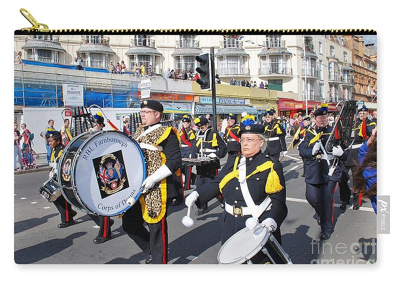 Drums Carry-all Pouch featuring the photograph Hastings Old Town Carnival by David Fowler