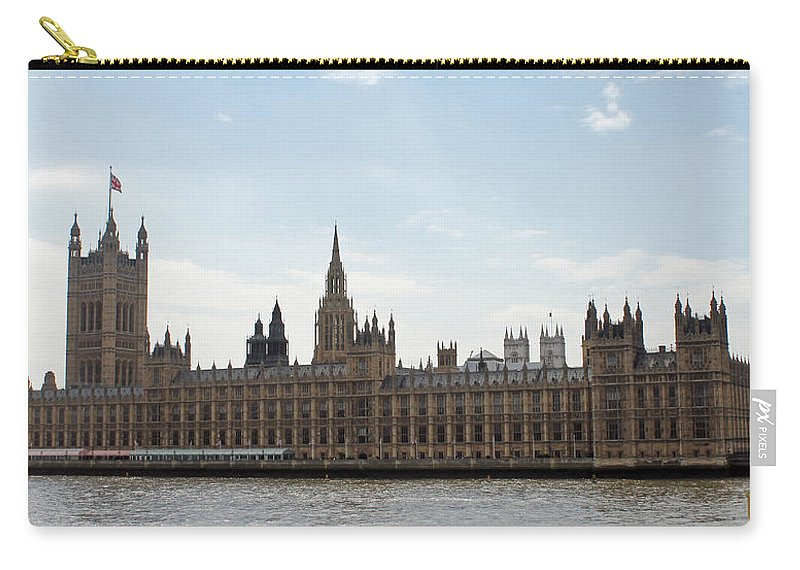 London Carry-all Pouch featuring the photograph Houses Of Parliament by Tony Murtagh
