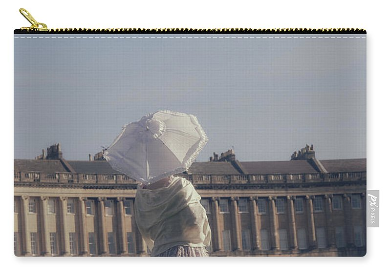 Woman Carry-all Pouch featuring the photograph Jane Austen by Joana Kruse