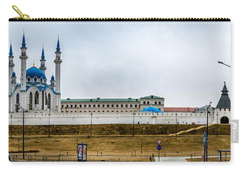 Islam Carry-all Pouch featuring the photograph Kazan. Kremlin by Alexey Stiop