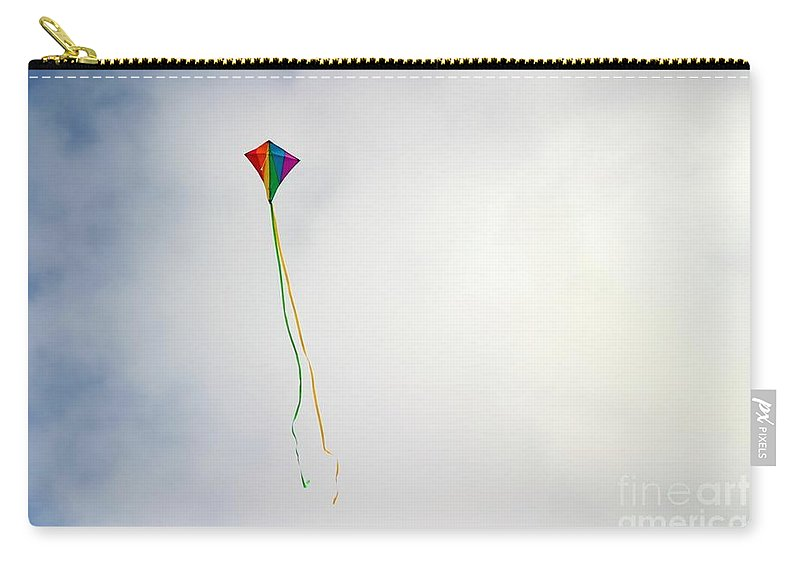 Leisure Carry-all Pouch featuring the photograph Kite by Henrik Lehnerer