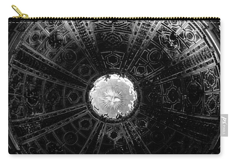 Looking Up Carry-all Pouch featuring the photograph Looking Up Siena Cathedral 2 by David Hohmann