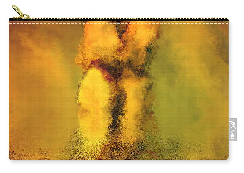 Nudes Carry-all Pouch featuring the photograph Lovers by Kurt Van Wagner