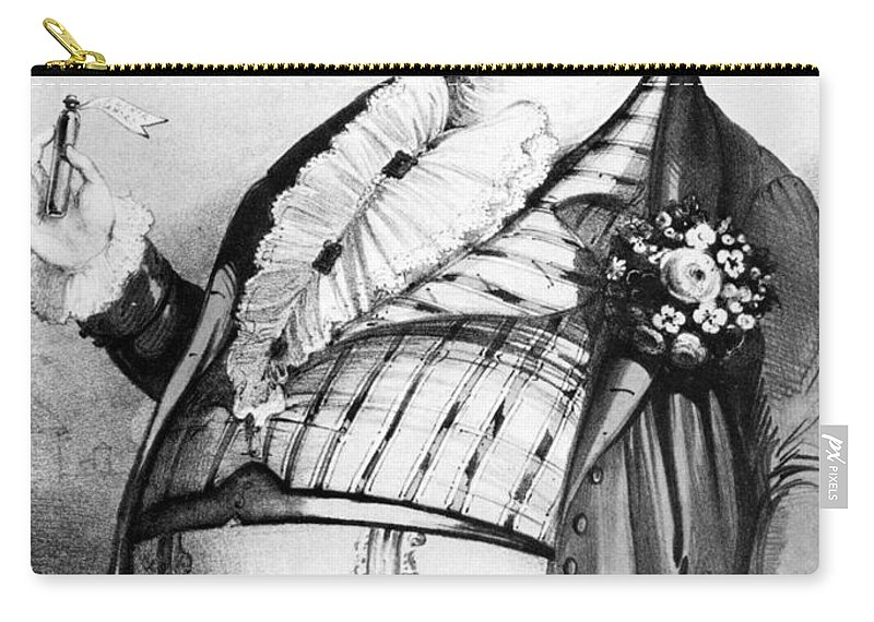 1823 Carry-all Pouch featuring the photograph Luigi Lablache (1794-1858) by Granger