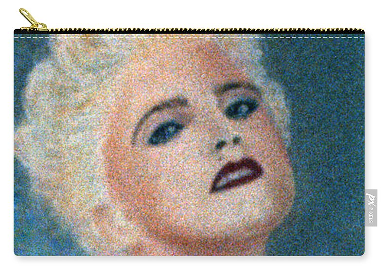 Madonna Carry-all Pouch featuring the pastel Madonna The Early Years by Bill Holkham