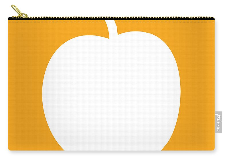 Peach Carry-all Pouch featuring the digital art Peach by Jackie Farnsworth