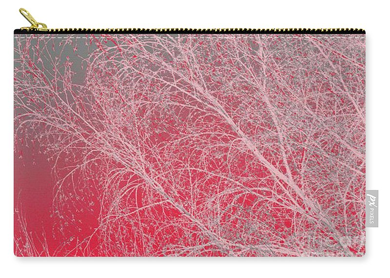 Pink Carry-all Pouch featuring the digital art Pink by Carol Lynch