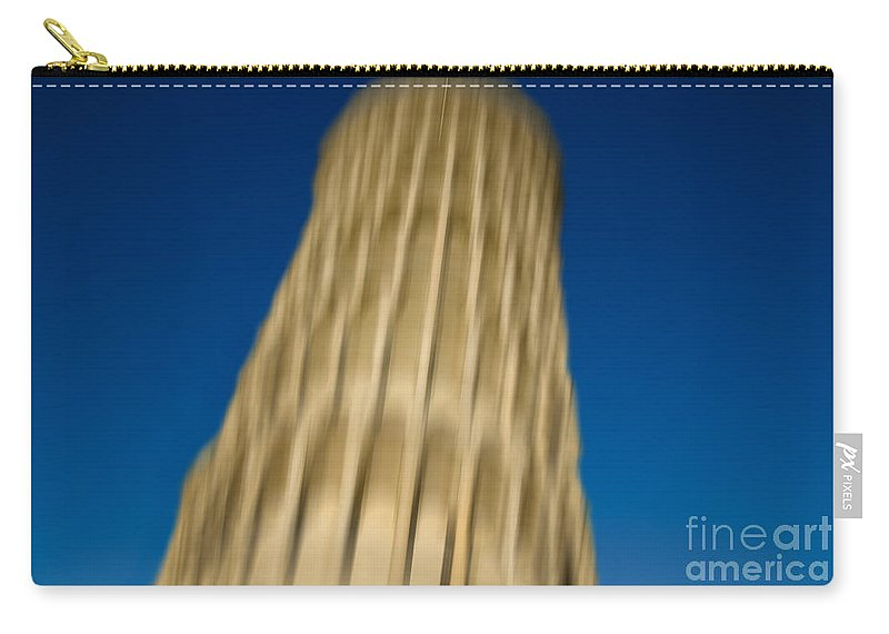 Pisa Carry-all Pouch featuring the photograph Pisa Tower by Mats Silvan