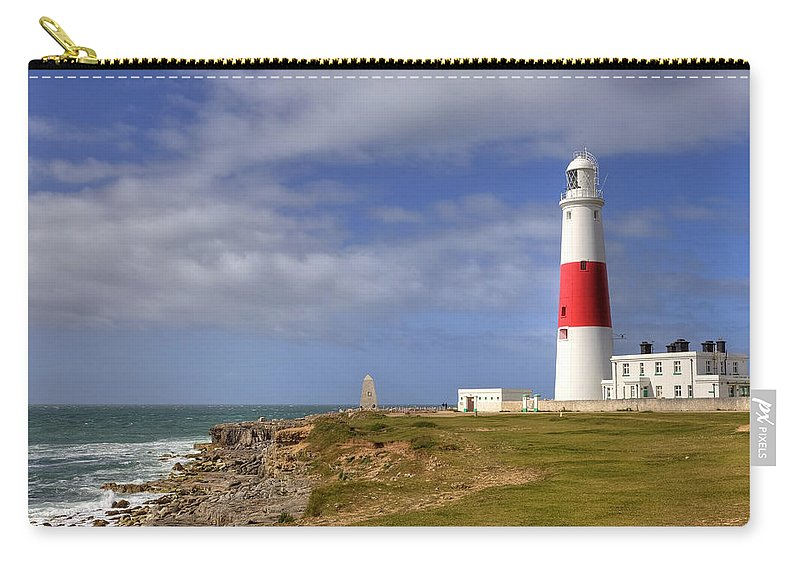 Portland Bill Carry-all Pouch featuring the photograph Portland Bill by Joana Kruse