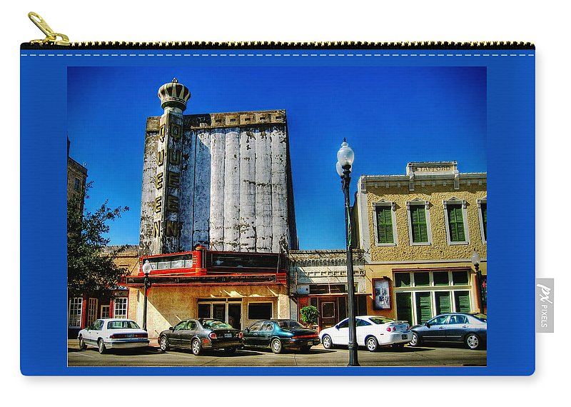 Queen Carry-all Pouch featuring the photograph Queen Theater by Savannah Gibbs