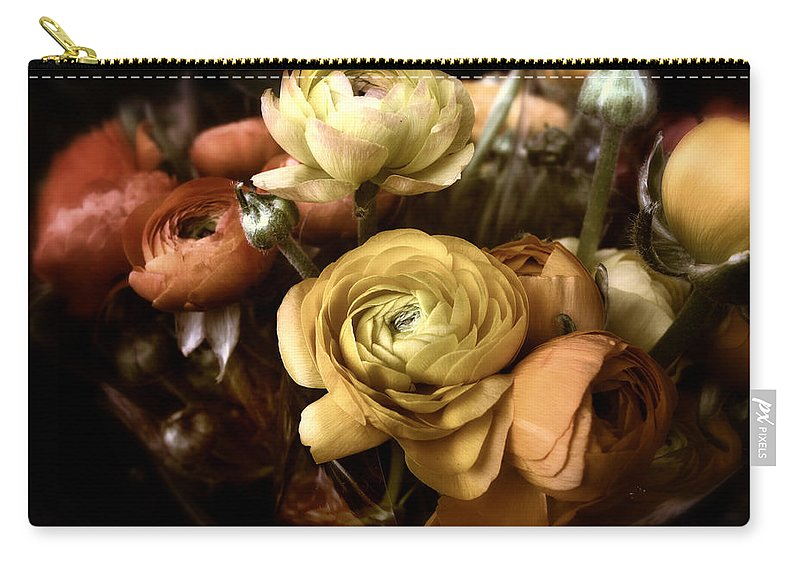Flowers Carry-all Pouch featuring the photograph Ranunculus by Jessica Jenney