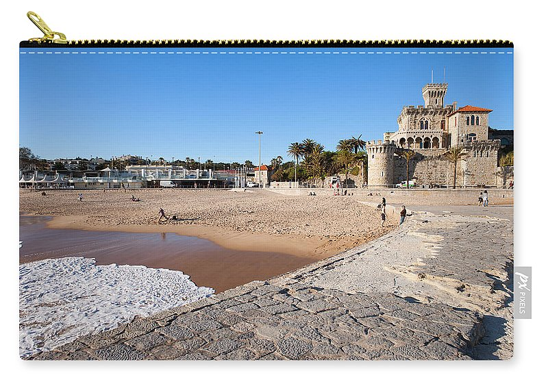 Estoril Carry-all Pouch featuring the photograph Resort Town Of Estoril In Portugal by Artur Bogacki