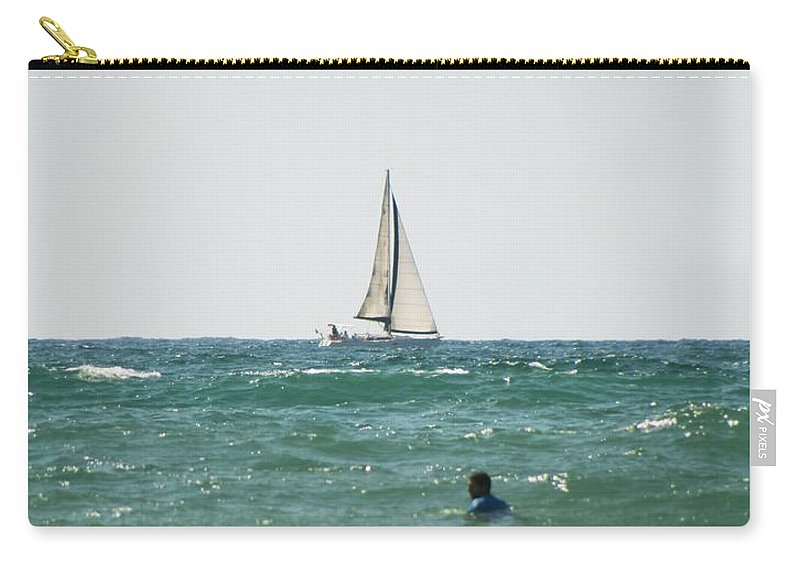 California Carry-all Pouch featuring the photograph Sailing In California by Doc Braham