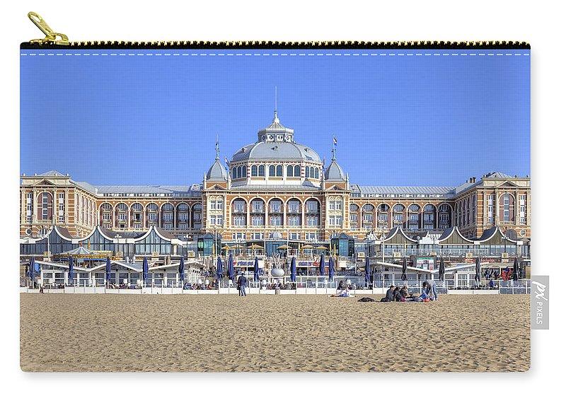 Scheveningen Carry-all Pouch featuring the photograph Scheveningen by Joana Kruse