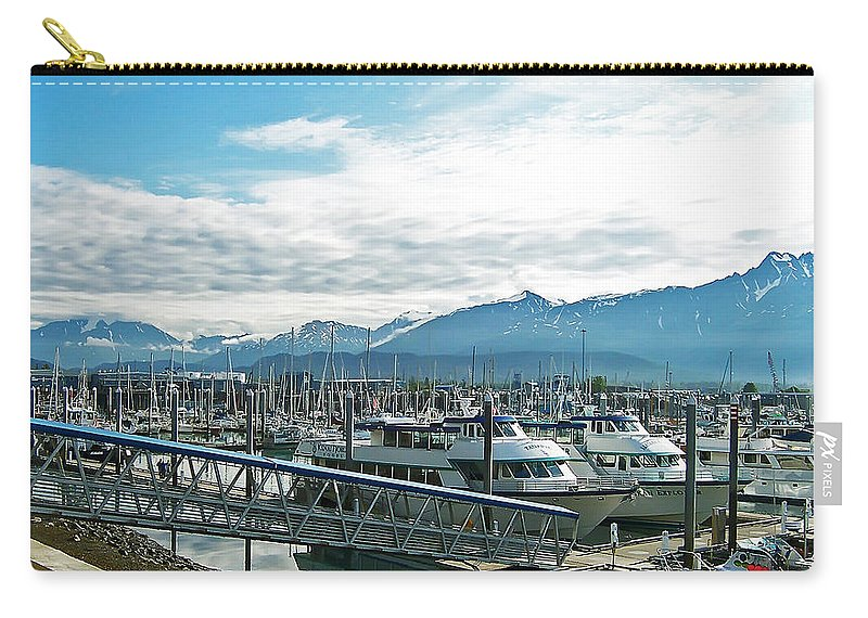 Alaska Carry-all Pouch featuring the photograph Seward Alaska by Aimee L Maher ALM GALLERY