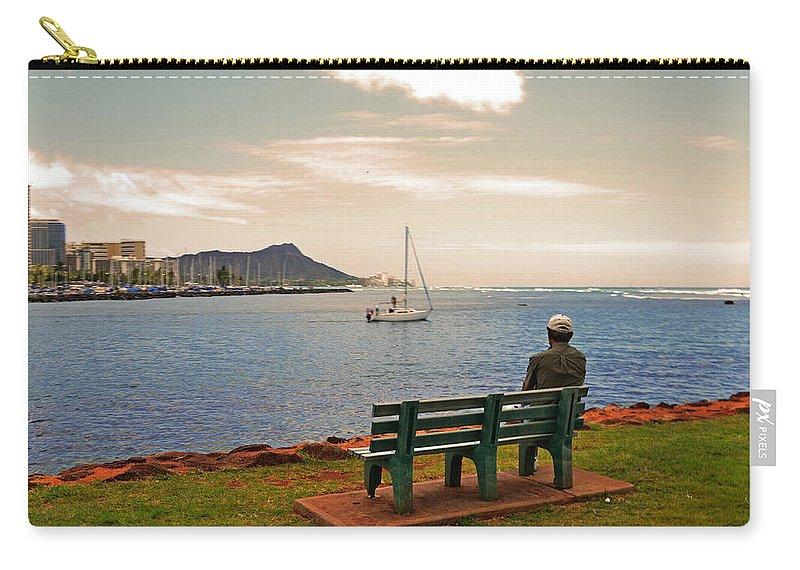 Lisa Lambert Carry-all Pouch featuring the photograph Solitude by Lj Lambert