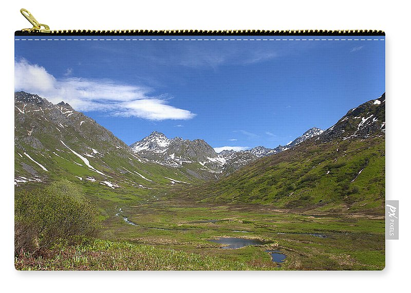 Doug Lloyd Carry-all Pouch featuring the photograph Spring View by Doug Lloyd