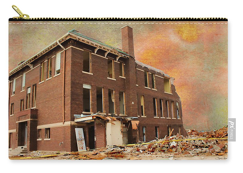 School Carry-all Pouch featuring the photograph Stripped by Sylvia Thornton
